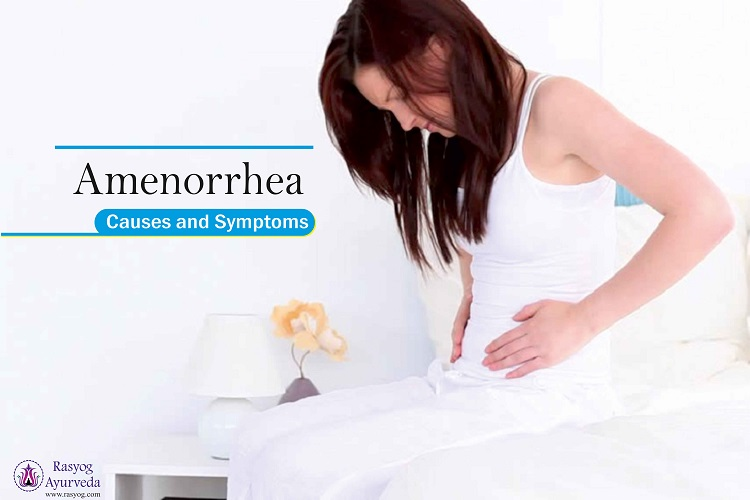 amenorrhea causes and symptoms